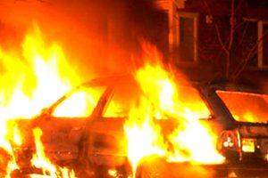 Курянин поджёг автомобиль, чтобы скрыть преступление