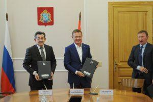 Подписан протокол к соглашению между администрацией Курской области и ООО «КурскОбувь»