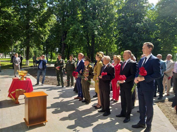 В Курской области закладывают первый камень часовни памяти