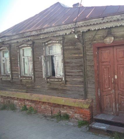 В Курске утром горел жилой дом