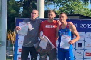 Курские легкоатлеты завоевали «золото»на Кубке России