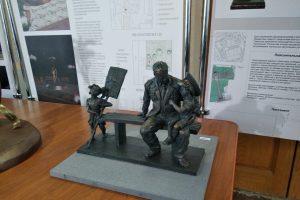 В Курске выбирают проект памятника ветерану Великой Отечественной войны