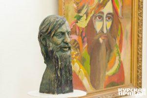 Фоторепортаж с выставки курского художника Олега Радина