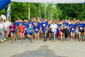 Второй день СЭФ-2019 в Курске стартовал с благотворительного забега