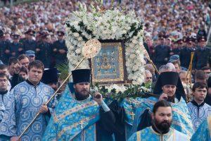 План крестного хода с иконой Божией Матери «Знамение» Курская Коренная