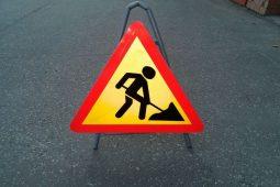 В Курске на улице Дзержинского дорожники заканчивают работы