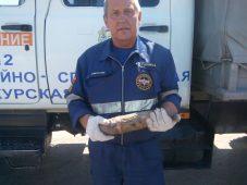 В Курской области было найдено 3 артиллерийских снаряда