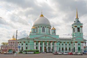 На территории Курского детинца проходят организованные экскурсии