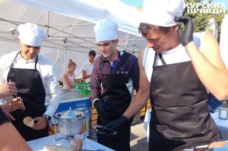 Курский «Авангард» научил болельщиков готовить