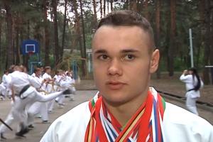 Юный курянин выиграл Кубок мира по киокусинкай карате
