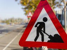 В Курске перекрыли улицу Никитскую