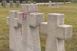 Под Курском перезахоронили останки более 200 немецких солдат