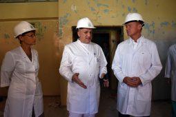 Старовойт внепланово посетил Курскую областную клиническую больницу