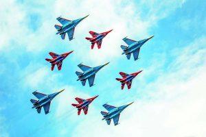 «Русские витязи»  в курском небе