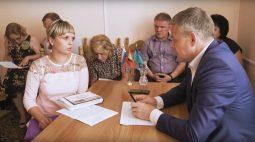 К мэру Курска обратились 7 курян по вопросам улучшения жилищных условий