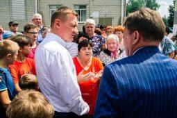 Роман Старовойт посетил Курский район