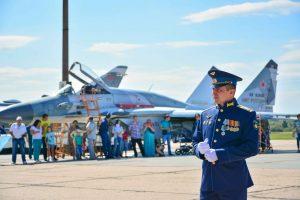 В Курске отметили 107-ю годовщину образования Военно-воздушных Сил РФ