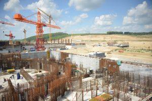 На Курской АЭС-2 приступили к бетонированию контурных стен энергоблока №2
