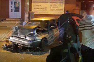 В Курске в ДТП попали пассажиры такси