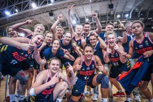 Курянки в составе сборной России выиграли чемпионат Европы