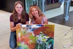 Немецкие школьники посетили мастер-класс курской художницы