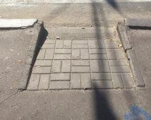 Администрация Курска проверила съезд с тротуара, где упал инвалид