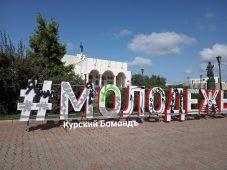 Курские вандалы испортили инсталляцию в центре города