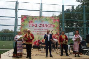 В Курске проходит праздник русских народных традиций «Три Спаса»