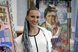 Для участников молодежного форума проведет мастер-класс курская художница