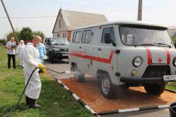 В Курской области прошла тренировка по ликвидации птичьего гриппа