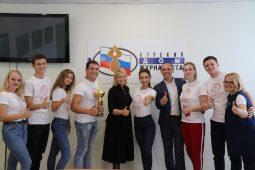 Команда курского вуза признана лучшей в общекомандном рейтинге «Славянки»