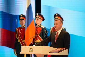 Роман Старовойт вступил в должность губернатора Курской области