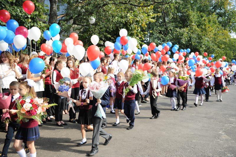 Вчера в Курской области отправились в школу 115 тысяч детей