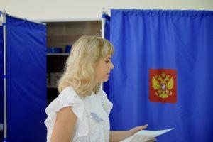 К полудню на выборах губернатора проголосовали 15% жителей Курской области