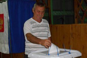 Курская область: В Тимском районе продолжаются выборы