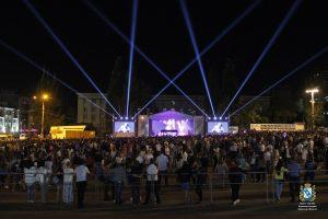 День знаний в Курске завершается концертом