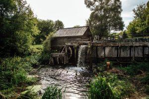 Для мельницы расчистят ручей