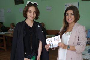 В Октябрьском районе выборы губернатора Курской области проходят спокойно