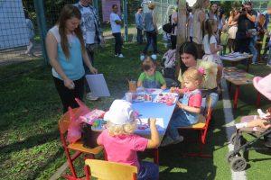 В Курске на Боевке прошел фестиваль в поддержку детей с расстройствами аутистического спектра
