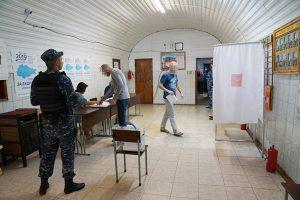 Курские подследственные приняли участие в выборах