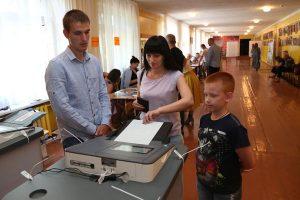 В Курской области к 18.00, на выборах Губернатора проголосовало 36% избирателей