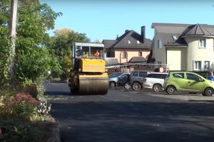 Курск: на улице Хуторской продолжаются дорожные работы