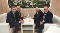 Делегация Курской области провела ряд переговоров на «Золотой осени»