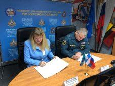 В Курской области МЧС и Уполномоченный по правам ребенка вместе защитят права детей