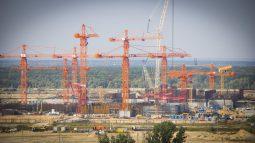 Падение рабочего со стройки Курской АЭС-2 обошлось без других жертв