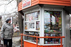 В Курске продолжают сносить незаконные киоски