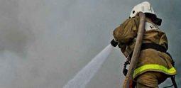 Курская область: В Железногорске сгорела  иномарка