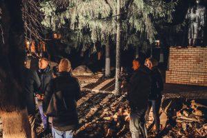 Роман Старовойт проверил освещение в Курчатовском районе Курской области
