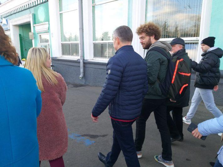 Илья Варламов в Курске оценил движение транспорта