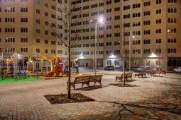 В Курске рассматривается вопрос фасадного освещения дворов